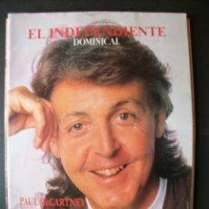 Revistas de música: REVISTA ESPAÑOLA EL DOMINICAL PAUL MCCARTNEY BEATLES. Lote 30843862