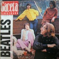 Revistas de música: REVISTA ESPAÑOLA GACETA ILUSTRADA 1972 LOS BEATLES. Lote 30849606