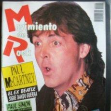 Revistas de música: REVISTA ESPAÑOLA MOVIMIENTO DE ROCK PAUL MCCARTNEY BEATLES. Lote 30855022