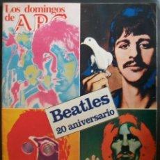 Revistas de música: REVISTA ESPAÑOLA LOS DOMINGOS DE ABC THE BEATLES. Lote 30855091