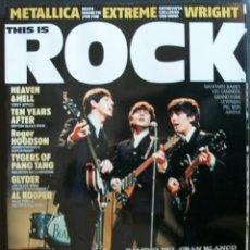 Revistas de música: REVISTA ESPAÑOLA THIS IS ROCK THE BEATLES. Lote 30885352