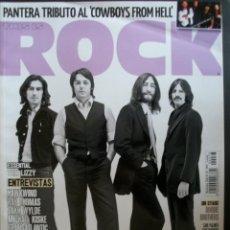 Revistas de música: REVISTA ESPAÑOLA THIS IS ROCK THE BEATLES. Lote 30885377
