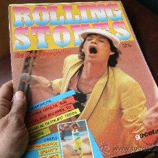 Revistas de música: ROLLING STONES - MONOGRAFICO EDITADO POR LA GACETA ILUSTRADA, ORIGINAL DE LOS AÑOS 80 - INTERESANTE!. Lote 30944967