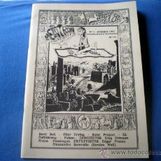 Revistas de música: REVISTA FANZINE DE ROCK PROGRESIVO MELLOTRON Nº 1 ENERO 1997 DEVIL DOGS SOLAR PROJECT 60 PAGS J1. Lote 31162009