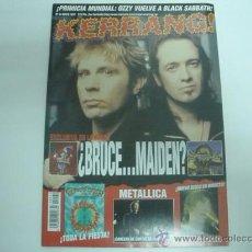 Revistas de música: KERRANG! Nº 42-MAYO1997- OZZY-EXTREMODURO-METALLICA. Lote 31601634