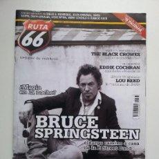 Revistas de música: RUTA 66 Nº 243. NOVIEMBRE 2007. BRUCE SPRINGSTEEN LOU REED THE BLACK CROWES THE CULT CALAMARO. Lote 31802882