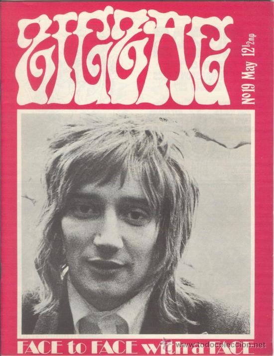 ZIG ZAG ROCK MAGAZINE Nº 19 MAYO DE 1971. REVISTA INGLESA ORIGINAL (Música - Revistas, Manuales y Cursos)