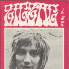 Revistas de música: ZIG ZAG ROCK MAGAZINE Nº 19 MAYO DE 1971. REVISTA INGLESA ORIGINAL. Lote 31971201