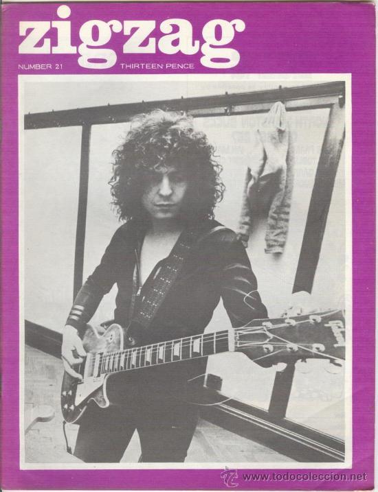 ZIG ZAG ROCK MAGAZINE Nº 21 1971. REVISTA INGLESA ORIGINAL (Música - Revistas, Manuales y Cursos)