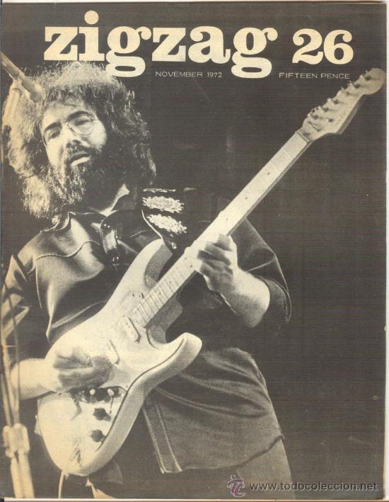 ZIG ZAG ROCK MAGAZINE Nº 26 1972. REVISTA INGLESA ORIGINAL (Música - Revistas, Manuales y Cursos)