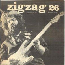 Revistas de música: ZIG ZAG ROCK MAGAZINE Nº 26 1972. REVISTA INGLESA ORIGINAL. Lote 31972902