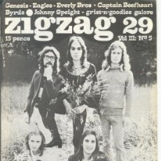 Revistas de música: ZIG ZAG ROCK MAGAZINE Nº 29 1973. REVISTA INGLESA ORIGINAL. Lote 31975127