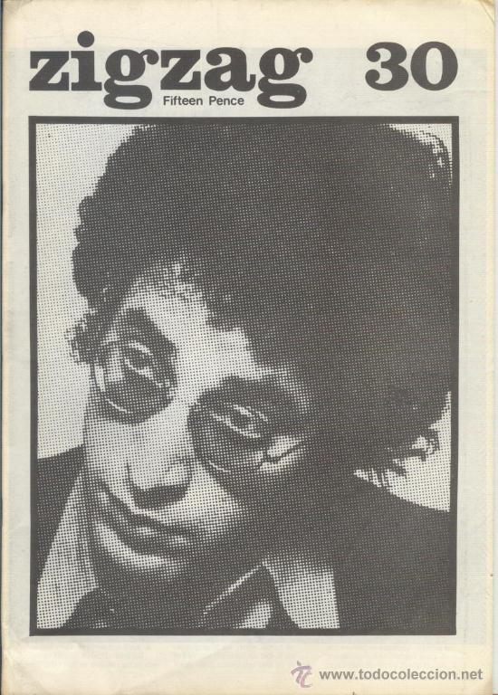 ZIG ZAG ROCK MAGAZINE Nº 30 1973. REVISTA INGLESA ORIGINAL (Música - Revistas, Manuales y Cursos)