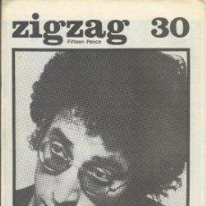 Revistas de música: ZIG ZAG ROCK MAGAZINE Nº 30 1973. REVISTA INGLESA ORIGINAL. Lote 31975246
