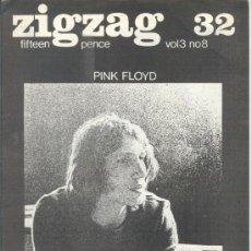 Revistas de música: ZIG ZAG ROCK MAGAZINE Nº 32 1973. REVISTA INGLESA ORIGINAL. Lote 31981682
