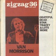 Revistas de música: ZIG ZAG ROCK MAGAZINE Nº 36 1973. REVISTA INGLESA ORIGINAL. Lote 31981771