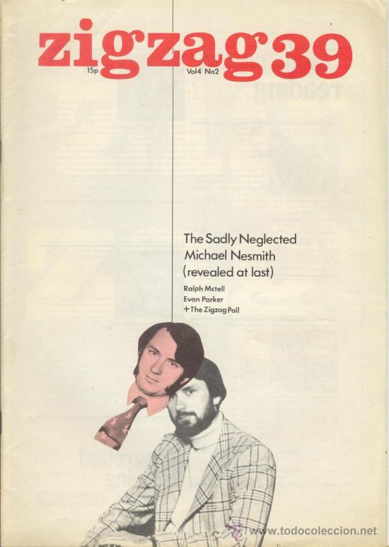 ZIG ZAG ROCK MAGAZINE Nº 39 1974. REVISTA INGLESA ORIGINAL (Música - Revistas, Manuales y Cursos)