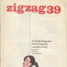 Revistas de música: ZIG ZAG ROCK MAGAZINE Nº 39 1974. REVISTA INGLESA ORIGINAL. Lote 31982090