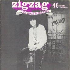 Revistas de música: ZIG ZAG ROCK MAGAZINE Nº 46 OCTUBRE DE 1974. REVISTA INGLESA ORIGINAL. Lote 31982504
