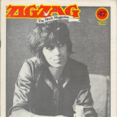 Revistas de música: ZIG ZAG ROCK MAGAZINE Nº 47 NOVIEMBRE DE 1974. REVISTA INGLESA ORIGINAL. Lote 31982528