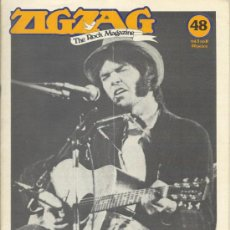 Revistas de música: ZIG ZAG ROCK MAGAZINE Nº 48 DICIEMBRE DE 1974. REVISTA INGLESA ORIGINAL. Lote 31982661