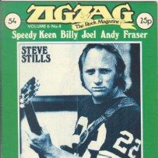 Revistas de música: ZIG ZAG ROCK MAGAZINE Nº 54 JULIO DE 1975. REVISTA INGLESA ORIGINAL. Lote 31982746
