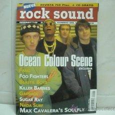 Revistas de música: ROCK SOUND REVISTA Nº 2 - SOULFLY - FOO FIGHTERS- KILLER BARBIES. Lote 32120267