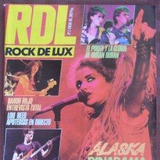 Revistas de música: REVISTA RDL ROCK DE LUXE Nº 3 AÑO ENERO 1985 COMO NUEVA VER FOTOS UNICA EN TC. Lote 33211909
