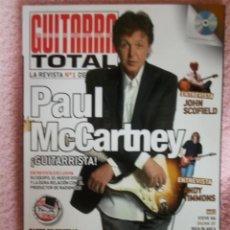 Revistas de música: REVISTA ESPAÑOLA GUITARRA TOTAL PAUL MCCARTNEY BEATLES. Lote 33274675