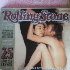 Revistas de música: REVISTA ESPAÑOLA ESPECIAL ROLLING STONE JOHN LENNON BEATLES. Lote 33275526