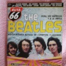 Revistas de música: REVISTA ESPAÑOLA RUTA 66 BEATLES. Lote 33275573