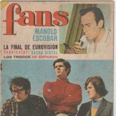 Revistas de música: REVISTA FANS - Nº99 AÑO 3 (1967). Lote 33302266