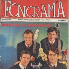 Revistas de música: REVISTA FONORAMA - Nº10 (1963) ORIGINAL !!!. Lote 33302459