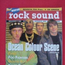 Revistas de música: ROCK SOUND Nº 2. FOO FIGHTERS, GARBAGE, KILLER BARBIES, NADA SURF, ETC. AÑO 1998. Lote 95700098