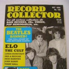 Revistas de música: BEATLES ESPECIAL BUTCHER COVER REVISTA RECORD COLLECTOR Nº 182 OCTUBRE 1994 RARA. Lote 33398259