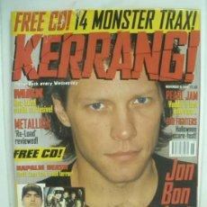 Revistas de música: KERRANG! Nº 674 NOV 15 1997. Lote 33973180