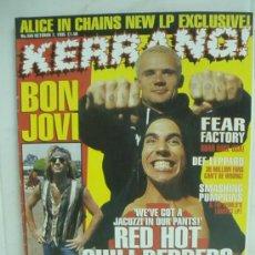 Revistas de música: KERRANG! Nº 566 OCT 1995. Lote 33973558
