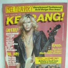 Revistas de música: KERRANG! Nº 279 MARZO 1990. Lote 33973647