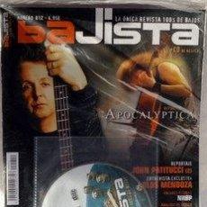 Revistas de música: PAUL MACCARNEY EX- THE BEATLES PORTADA REVISTA BAJISTA NUMERO 012 CON CD. Lote 33986694
