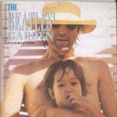 Revistas de música: REVISTA BEATLES' GARDEN. Nº 4 INVIERNO 1993/94 SERGEANT BEATLES FAN CLUB + INVITACIÓN + LOTERIA. Lote 33989587