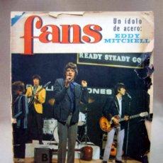 Revistas de música: REVISTA, FANS, MUSICA, THE ROLLING STONES, Nº 78, AÑO II, 1966. Lote 33997423