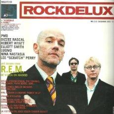 Revistas de música: ROCKDELUX REVISTA Nº 213 AÑO 2003 REM ROBERT WYATT ELLIOTT SMITH LEE PERRY @ NUEVA Y COMPLETA . Lote 34127421
