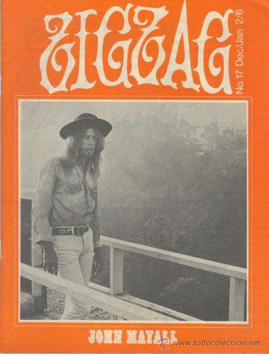 ZIG ZAG ROCK MAGAZINE Nº 17 DICIEMBRE/ENERO DE 1971. REVISTA INGLESA ORIGINAL (Música - Revistas, Manuales y Cursos)