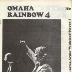 Revistas de música: OMAHA RAINBOW Nº 4 1974 REVISTA INGLESA ORIGINAL. Lote 34161620