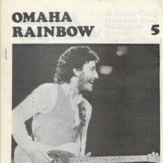 Revistas de música: OMAHA RAINBOW Nº 5 1975 REVISTA INGLESA ORIGINAL. Lote 34161627