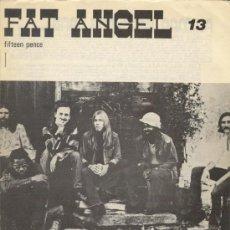 Revistas de música: FAT ANGEL Nº 13 1974 REVISTA INGLESA ORIGINAL. Lote 34161665