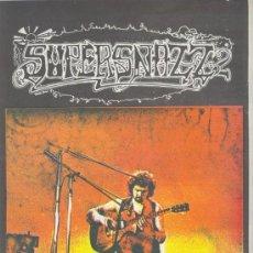 Revistas de música: SUPERSNAZZ Nº 2 1973 REVISTA INGLESA ORIGINAL. Lote 34169406