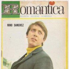 Revistas de música - Romántica 313. Revista juvenil femenina. Portada Nino Sánchez - 34294405