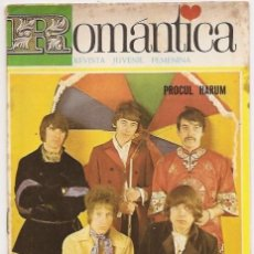 Revistas de música - Romántica 313. Revista juvenil femenina. Portada Procul Harum - 34294484