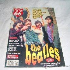 Revistas de música: RUTA 66 Nº 140. TODAS LAS PELÍCULAS DE THE BEATLES SEGUNDA PARTE. Lote 104096486